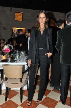 Izabel_Goulart_in_Roberto_Cavalli_Roberto_Cavalli_dinner_at_Il_Salumaio_2014_02_22_Milan