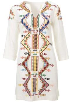 Embellished Smock Dress