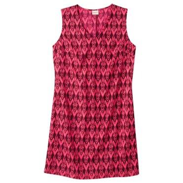 Merona Women's Woven Front Pocket Dress, Berry Cobbler, $24.99
