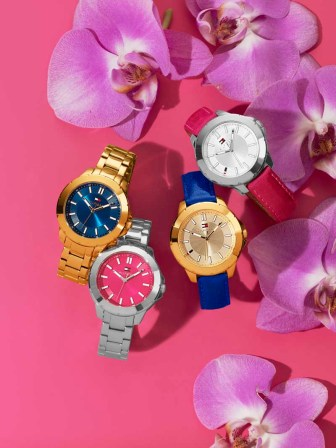 TOMMY HILFIGER WATCHES $105-$135