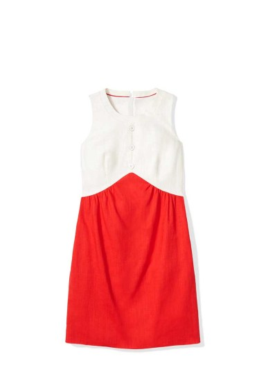 Tommy Hilfiger -- To Tommy from Zooey_fitted_colorblock_dress_$149.50