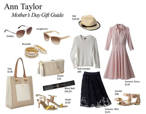 ann taylor mothers day gift guide