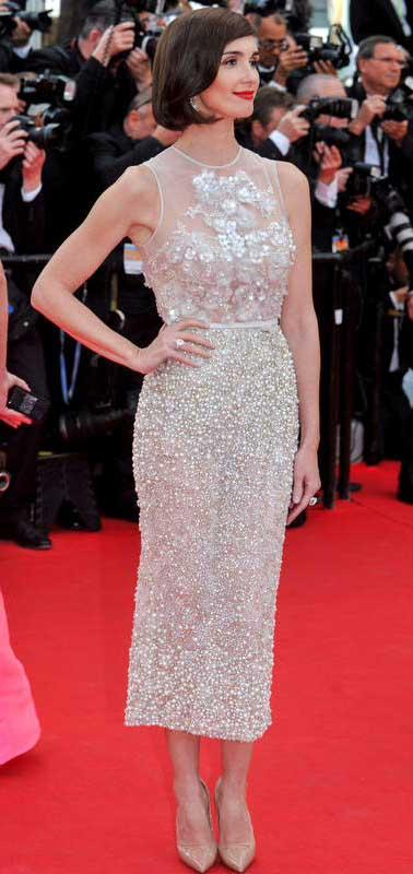 Paz Vega in Elie Saab Cannes 2014