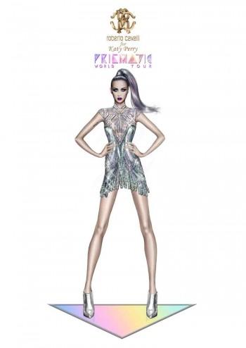 Roberto Cavalli for Katy Perry_Prismatic World Tour 2014 Look 1