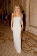 Fergie wearing Calvin Klein Collection