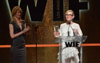 Cate Blanchett and Laura Dern