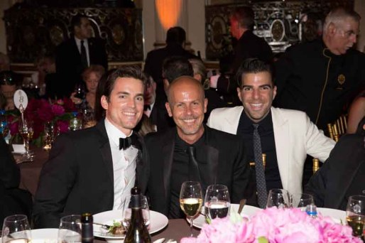 Matt Bomer, Italo zuchelli and ZACHART pinto