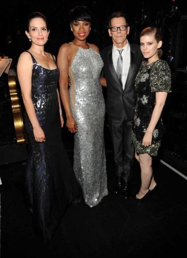 Tina Fey, Jennifer Hudson, Kevin Bacon and Kate Mara