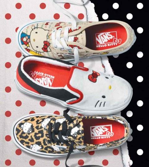 Vans x Hello Kitty_Kids Collection