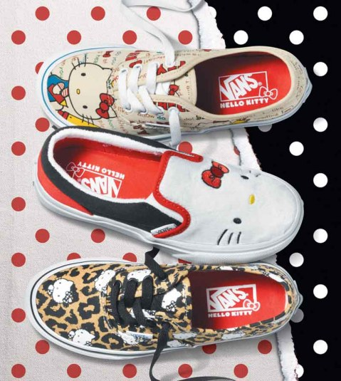 Vans x Hello Kitty_Kids Collection