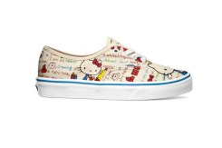 Vans_Authentic_(Hello Kitty) redwhite_Women's