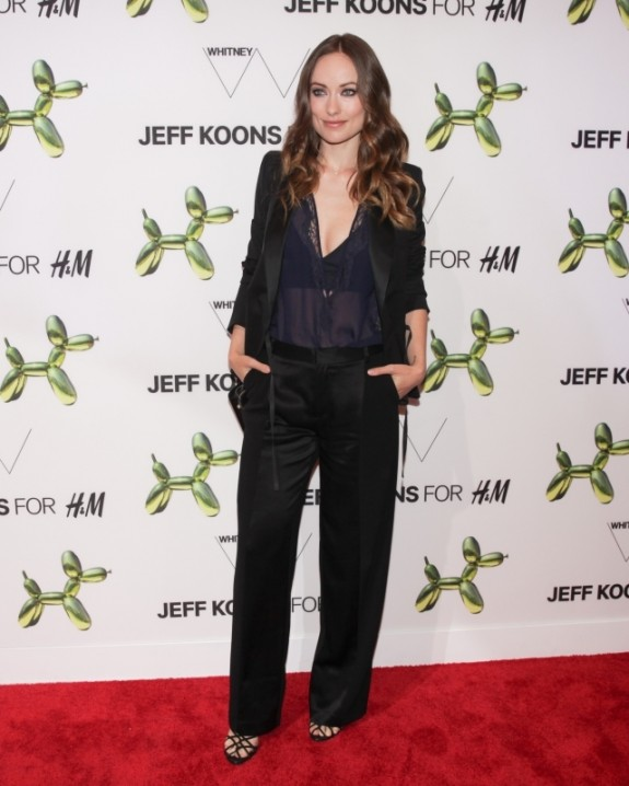"""""""Olivia Wilde at theH&M and Jeff Koons 5th Avenue Flagship Store Celebration"""""""