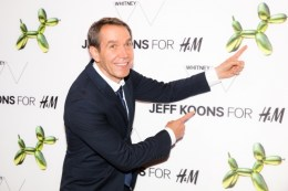 """Jeff Koons at the H&M and Jeff Koons 5th Avenue Flagship Store Celebration"""