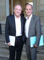 Francois Henri Pinault & Xavier Romatet