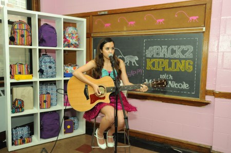 """Megan Nicole Performing at the #Back2Kipling Campaign Launch"""