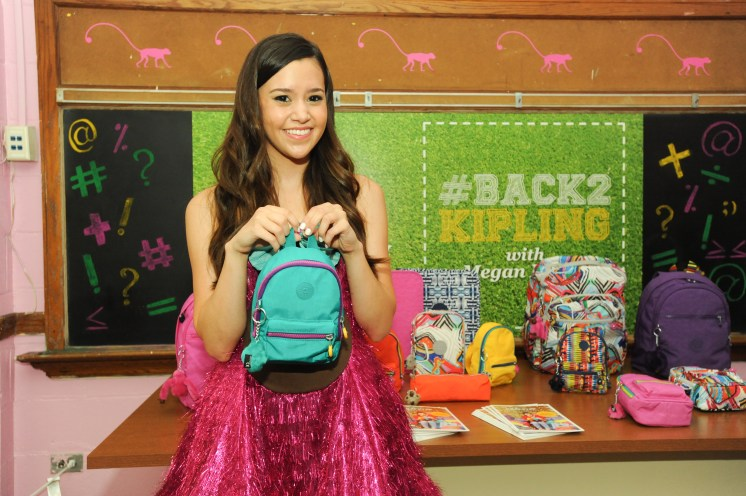 """""""Megan Nicole at the #Back2Kipling Campaign Launch"""