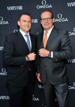 OMEGA And Vanity Fair Celebrate the 45th Anniversary Of The Moon Landing