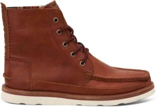TOMS Searcher Boot- Brown Leather