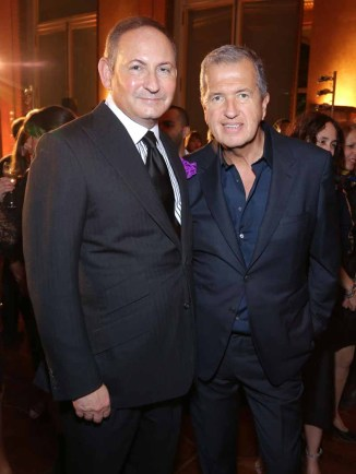 John Demsey & Mario Testino
