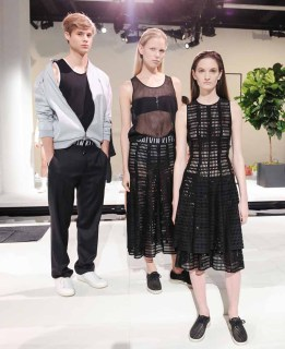 CALVIN KLEIN Presents Spring 2015 Mens and Womens Lines