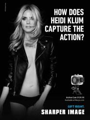 Heidi Klum for Sharper Image 2014 (1)