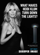 Heidi Klum for Sharper Image 2014 (4)
