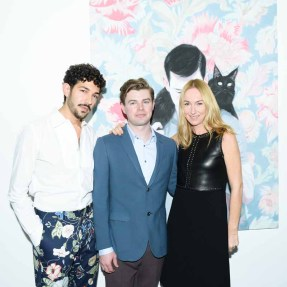 Frida Giannini, Kris Knight, Anthony Spinello