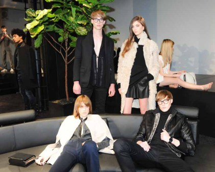 CALVIN KLEIN Presents Fall 2015 Men's and Women's Lines, NYC