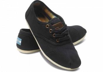 Toms Shoes Cordones (black)