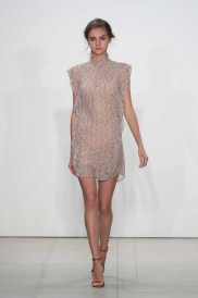 NEW YORK, NY - SEPTEMBER 08: A model walks the runway at Marissa Webb fashion show during New York Fashion Week: The Shows at The Gallery, Skylight at Clarkson Sq on September 8, 2016 in New York City. (Photo by Neilson Barnard/Getty Images for Marissa Webb)