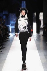 DESIGUAL_NYFW_AW17_ATWALK_LOOK 34 NEW YORK, NY - FEBRUARY 09:A model walks the runway at the Desigual show New York Fashion Week The Shows at Gallery 1, Skylight Clarkson Sq on February 9, 2017 in New York City