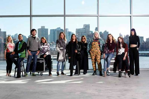 "Designers of the Epson ""Digital Couture"" F/W18 Fashion Presentation"