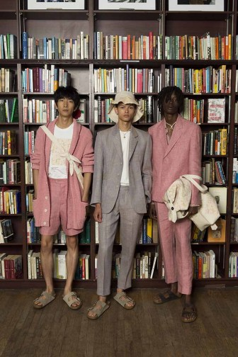 Presentation of Victor Li's Spring Summer 2019 mens collection on July 9 2019.