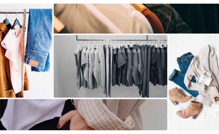 clothes collage for BFC/Vogue Designer Fashion Fund