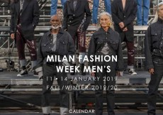 Screenshot of Milan Fashion Week Men's at Camera Moda