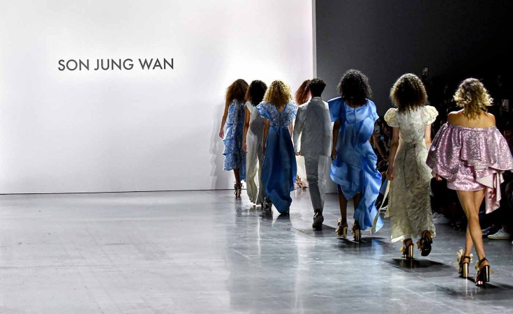 Son Jung Wan Spring 2020