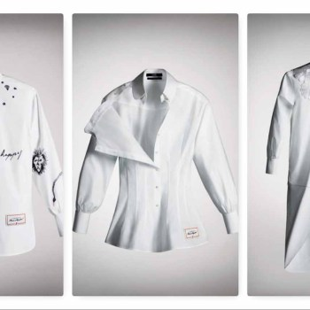 white shirt project karl lagerfeld