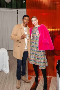 Luda Weigand in Beyond Closet Sweater and Jessica Taylor Stevenson in Wnderkammer Dress 2