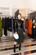 Vanessa Zheng in LIE Skirt
