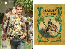 Etro - Emilio Salgari's vintage book covers