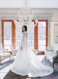 ANNE BARGE SRPING 2022 BRIDAL COLLECTION