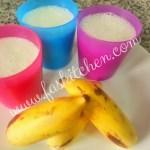 Banana Guava Milkshake