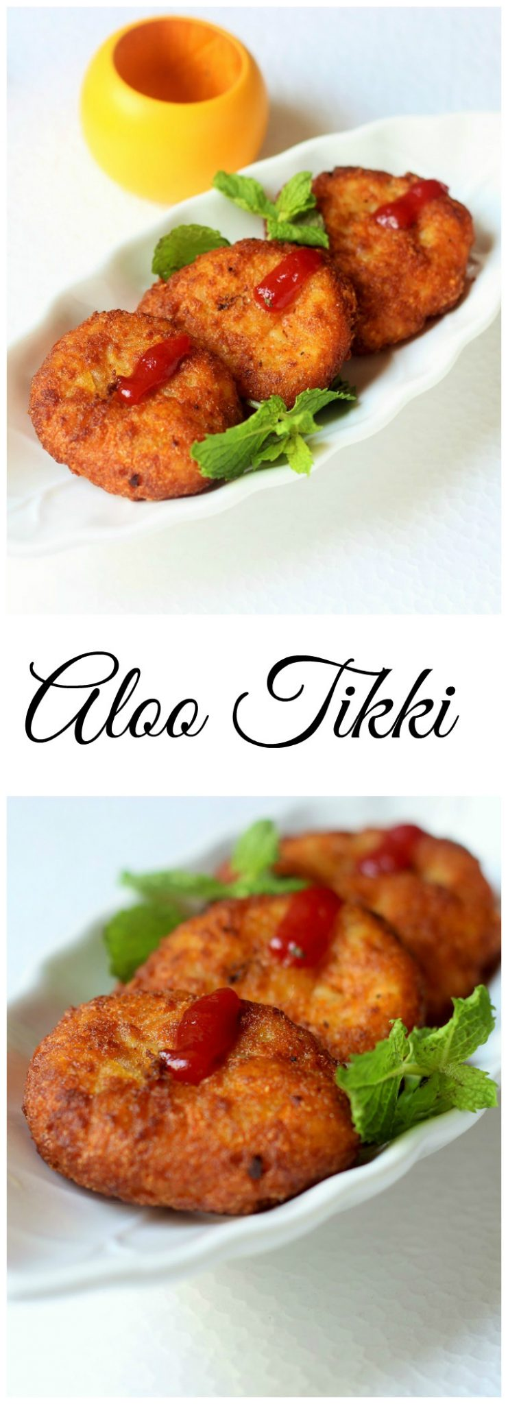 aloo tikki collage