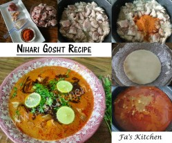 Nihari gosht recipe or Nehari Recipe, Pakistani is one of most favorite and traditional dishes of every Muslim home. Be it mutton, chicken or beef nihari, it can be relished with any kind of meat.