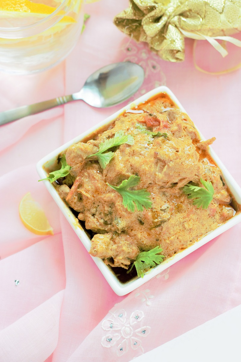 chicken korma curry recipe