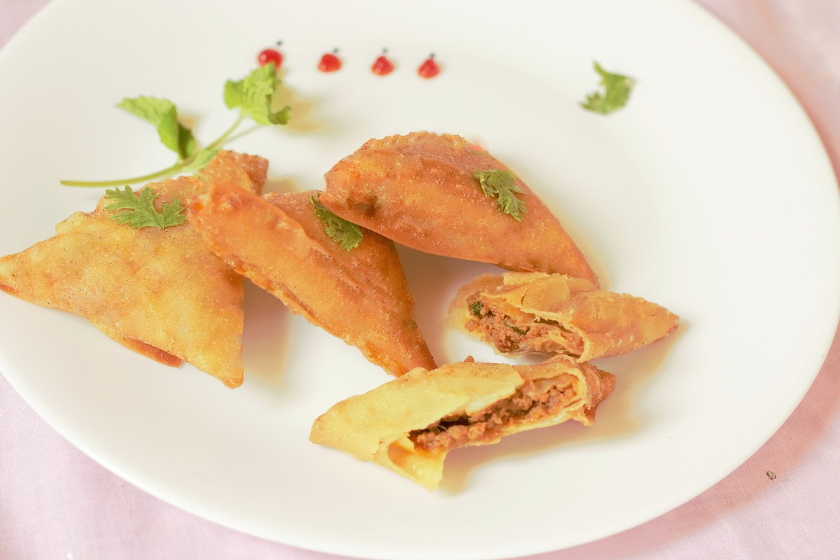 how to cook samosa meat