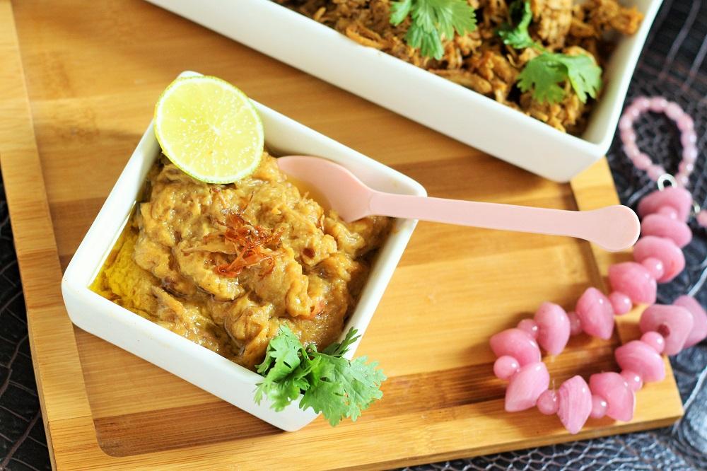 Traditional Hyderabadi chicken Haleem Recipe