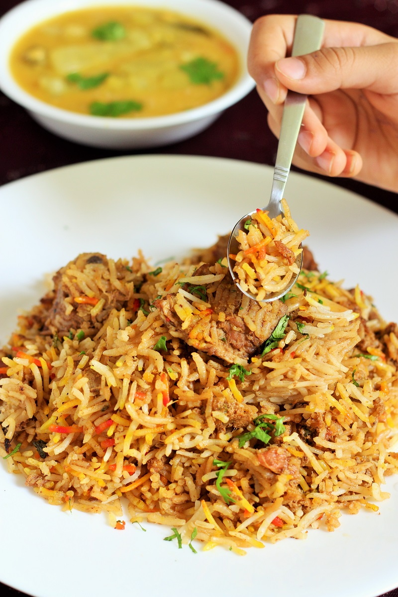 Indian Mutton Biryani Recipe