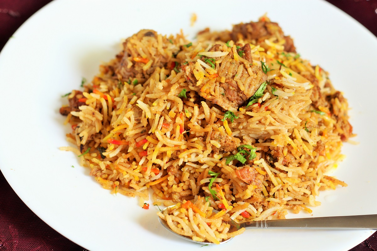 Recipe for mutton biryani