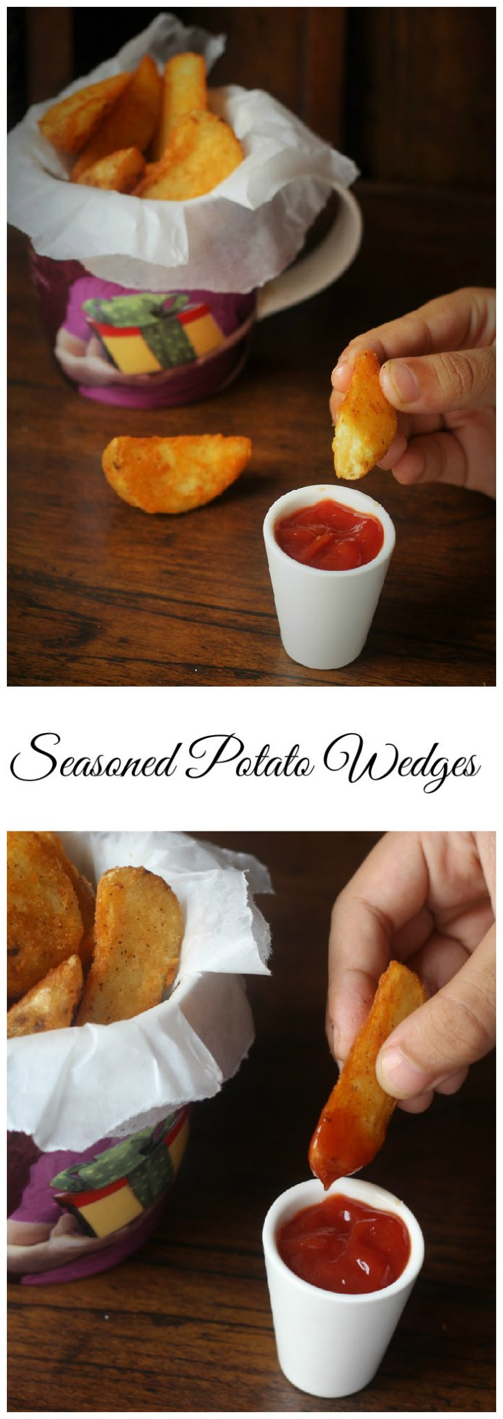 Delicious and Tasty Indian Seasoned Potato Wedges